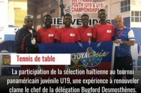 PARTICIPATION HONORIFIQUE POUR HAITI AU PANAM U19
