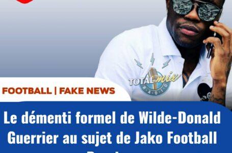 """FOOT – INTERVIEW : """" J'AI ÉTÉ À JAKO FOOTBALL PASSION"""", DIXIT WILDE-DONALD GUERRIER"""