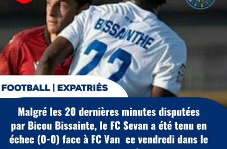 FOOT -: EXPATRIÉS : PAS DE VAINQUEUR ENTRE SEVAN FC DE BICOU BISSAINTHE ET VAN FC
