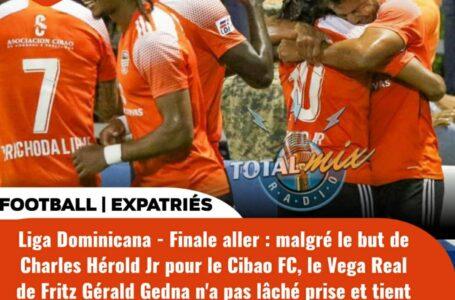 FOOT – EXPATRIÉS : CHARLES HÉROLD JR BUTEUR, MAIS CIBAO FC TENU EN ÉCHEC