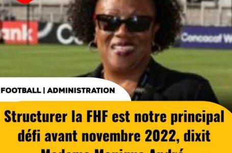 FHF – ÉLECTIONS : MONIQUE ANDRÉ FAIT LE POINT